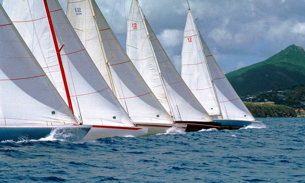Stars & Stripes 87 (US-55) | 12 Metre Regatta